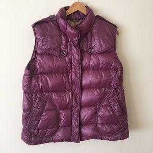 Burberry down vest